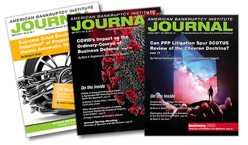 ABI journal covers